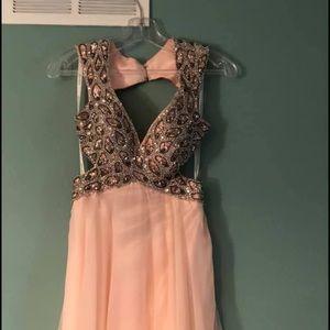 Jovani Dresses - Prom dress baby pink